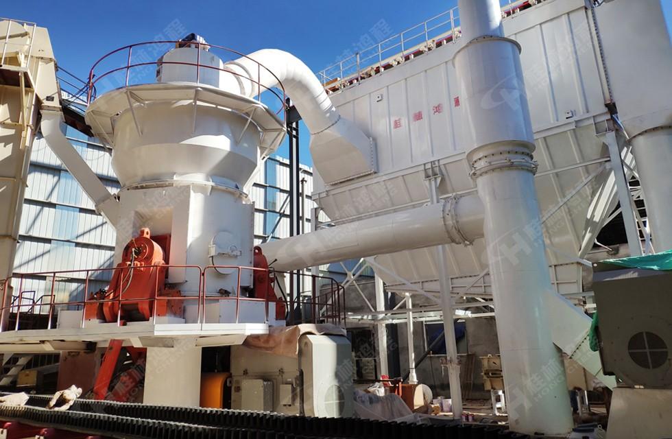 桂林鸿程碳酸钙自动生产线 HLM立磨 100目 400目磨粉设备
