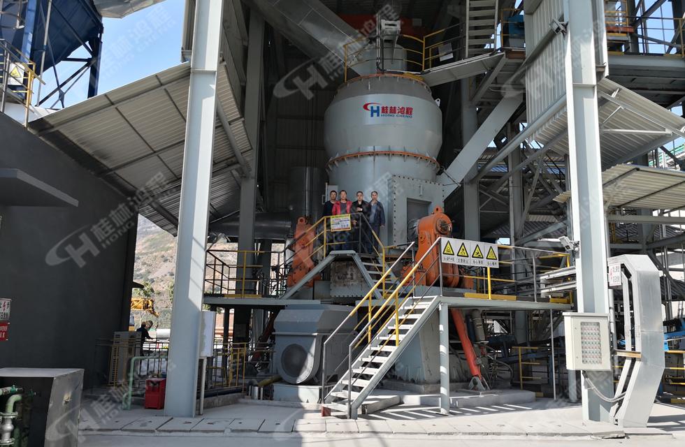 粗粉碳酸鈣立磨機HLM立式磨粉機[80目-325目碳酸鈣]