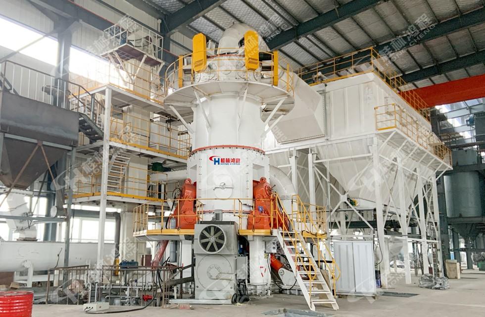 碳酸鈣生產工藝設備桂林鴻程HLMX超細立磨