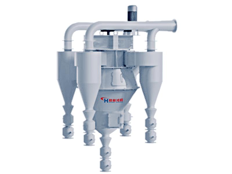 桂林鴻程產品選粉設備:石灰石選粉機設備